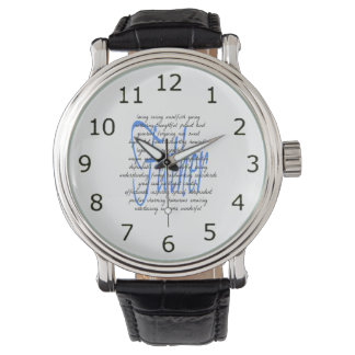Words for Father Wristwatch