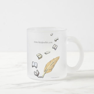Words In Flight frosted mug