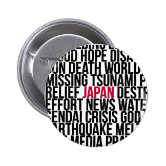 Words in the news pinback buttons