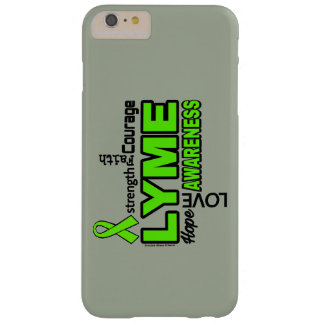 Words...Lyme Barely There iPhone 6 Plus Case