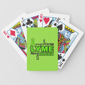 Words...Lyme Bicycle Playing Cards