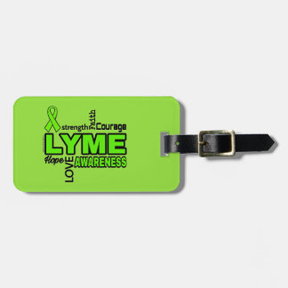Words...Lyme Luggage Tag
