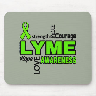 Words...Lyme Mouse Pad
