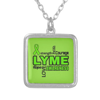 Words...Lyme Silver Plated Necklace
