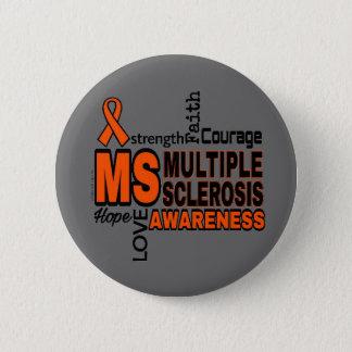 Words...MS 6 Cm Round Badge