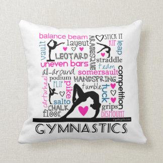 Words of Gymnastics Terminology Cushion