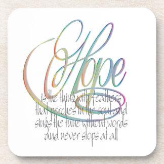 Words Of Hope Coaster