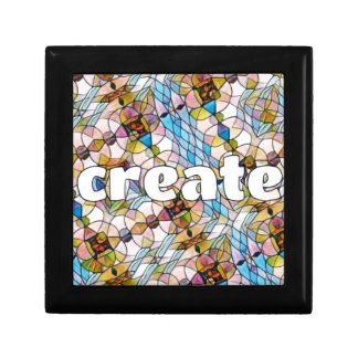 Words of Inspiration - Create Small Square Gift Box