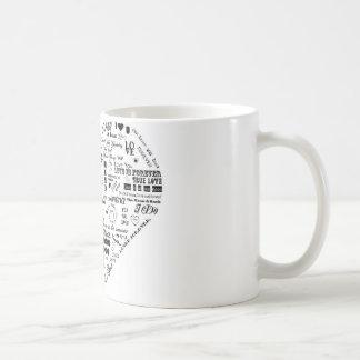 Words of Love Mugs