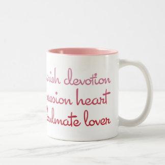 Words of Love Valentine's Day Mug