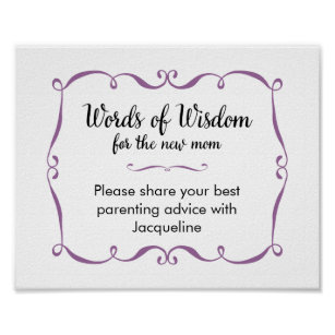 Advice For New Parents Gifts On Zazzle Au