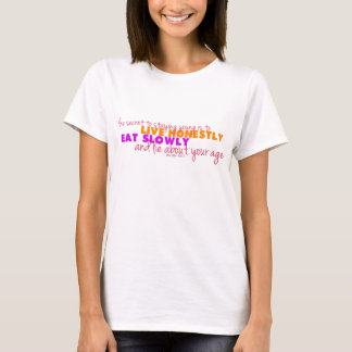 Words of Wisdom - Lucille Ball T-Shirt