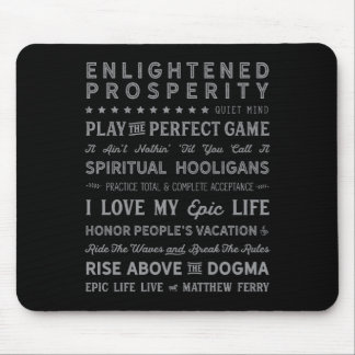 Words of Wisdom Mouse Pad 1