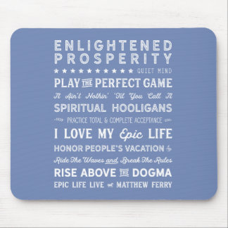 Words of Wisdom Mouse Pad 2