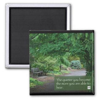 Words of Zen Wisdom Square Magnet