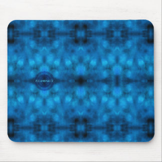 """Words to Live By: """"ILLUMINATE"""" Affirmation Art Mouse Pad"""