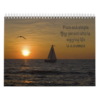 Words To Live By Wall Calendars