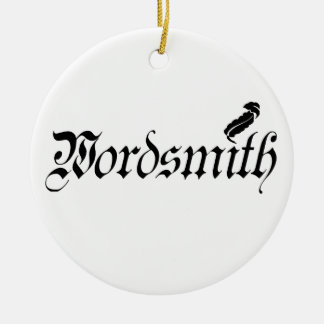 Wordsmith Ornament