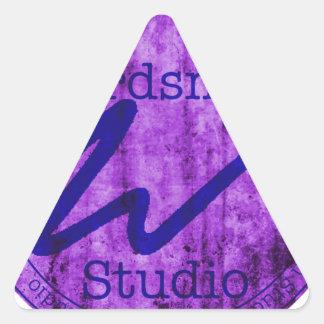 Wordsmith Studio Purlple/Navy Stickers