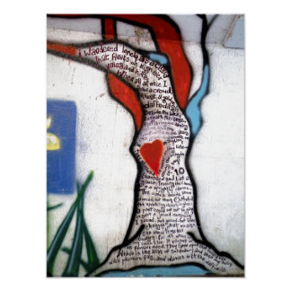 Wordsworth Poem Tree Poster