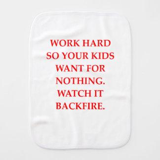 WORK BURP CLOTH