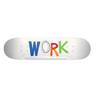 Work business employment job worker art words skateboard