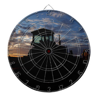 Work Day is Done on the Farm Dartboard