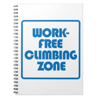Work Free Climbing Zone Notebooks