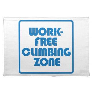 Work Free Climbing Zone Placemat