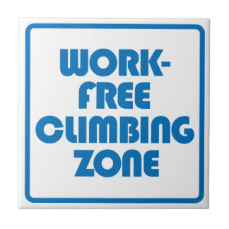 Work Free Climbing Zone Small Square Tile