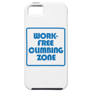 Work Free Climbing Zone Tough iPhone 5 Case