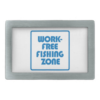 Work Free Fishing Zone Belt Buckles