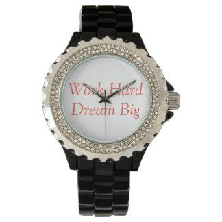 Work Hard, Dream Big - Watch for Entrepreneurs