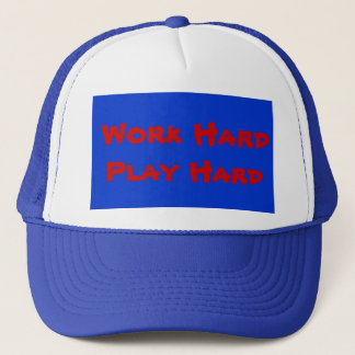 Work Hard Play Hard - Hat