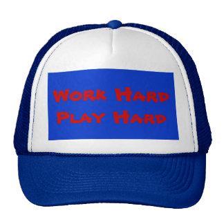 Work Hard Play Hard - Hat