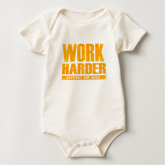 Work Harder Baby Bodysuit
