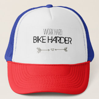 work hardware. BIKE HARDER Trucker Hat