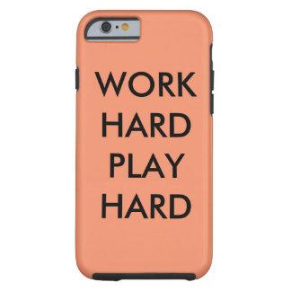 WORK HARDWARE PLAY HARDWARE Hulls iphone Tough iPhone 6 Case