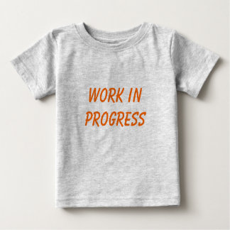 Work In Progress - kids shirt