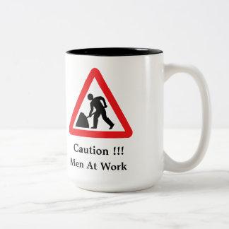 Work in progress sign Mug