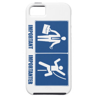 Work Is Important, Climbing Is Importanter iPhone 5 Covers