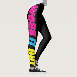 WORK IT OUT Women's Cool Workout Compression Pants