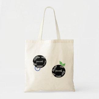 work life balance budget tote bag