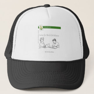 Work-Life Balance With Book Trucker Hat