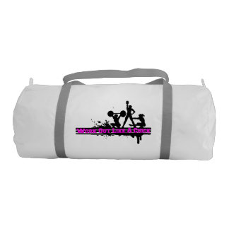 Work Out Like A Chick Gym Duffel Bag