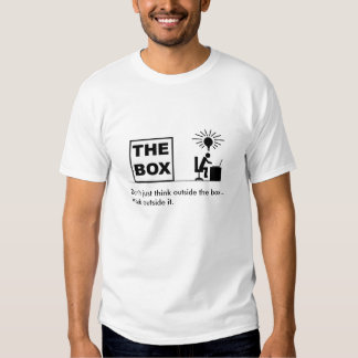 Work outside the box t shirt