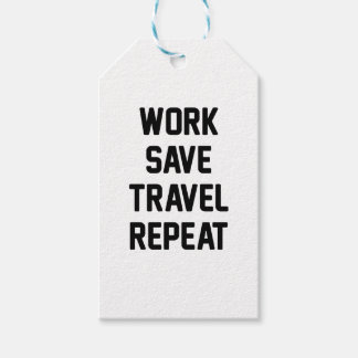 Work Save Travel Gift Tags