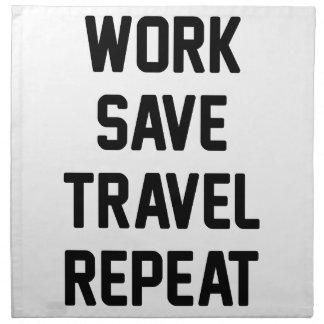 Work Save Travel Napkin