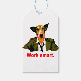 Work smart gift tags