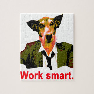 Work smart jigsaw puzzle
